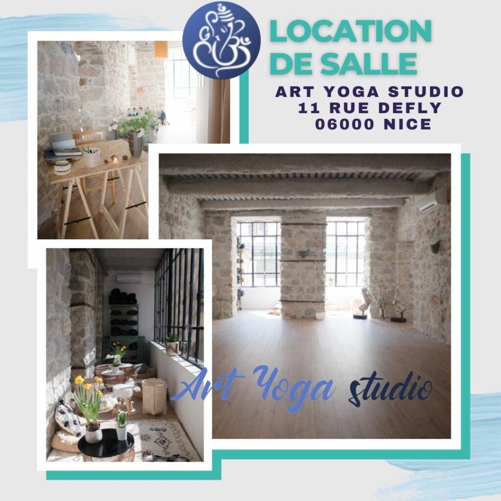 Location de salle à Nice Centre pour Cours de Yoga
