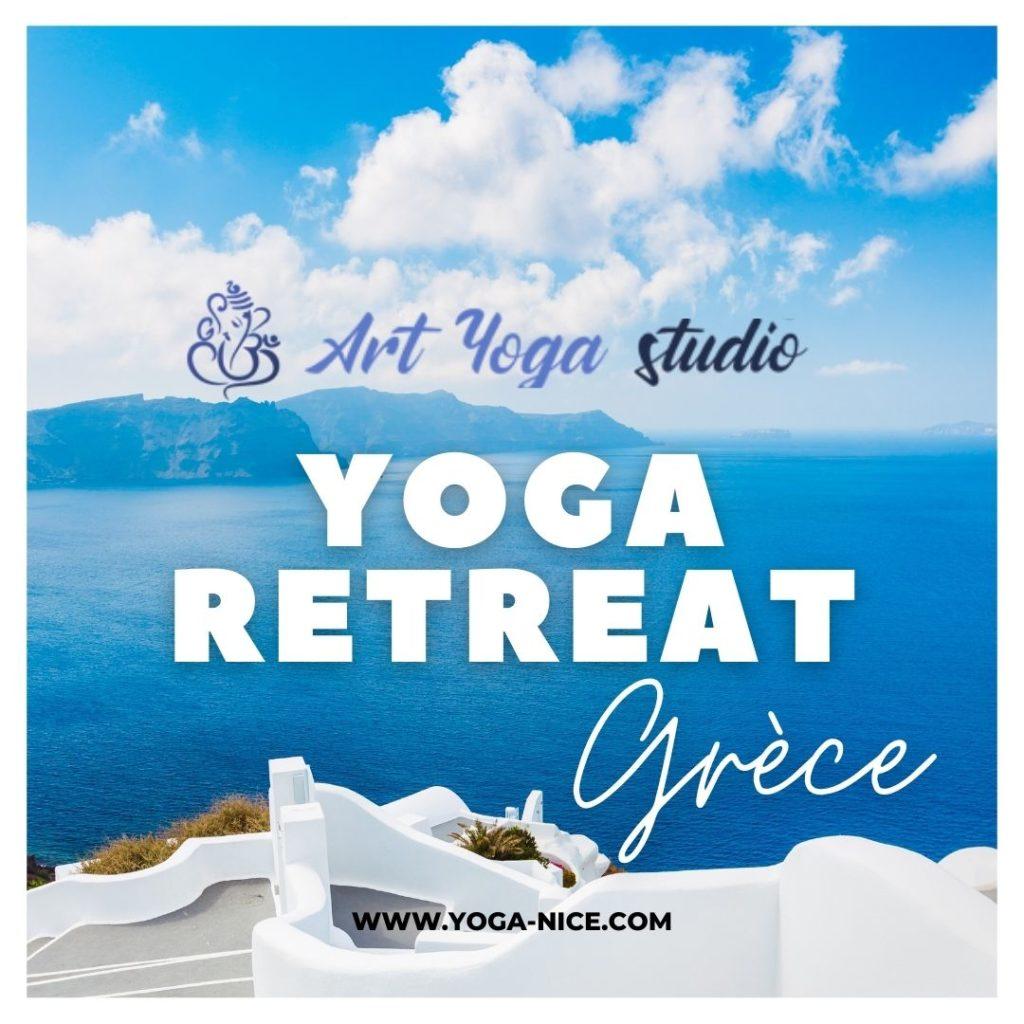 Cours de yoga à Nice, retraite de Yoga en Grèce
